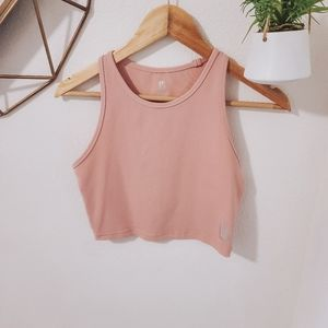 BuffBunny Light Pink Aurora Crop Top